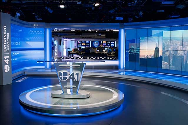 WXTV Univision Nueva York uses Lighting in Rebrand