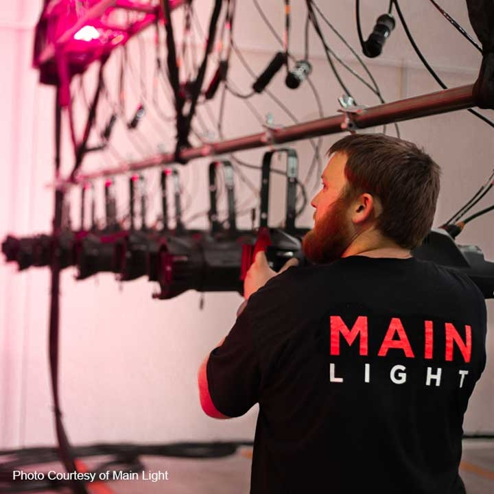 Main Light invests in the PROLiGHTS EclProfile FS Ellipsoidal