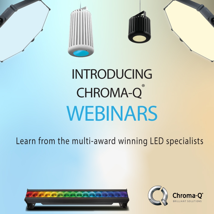 Learn from the multi-award winning LED specialists, Chroma-Q