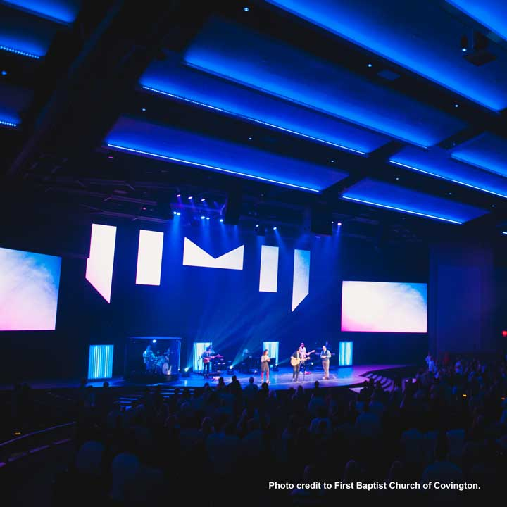 First Baptist Church Covington Completes New Worship Center