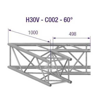 H30V 2-Way Corner 60 Degree